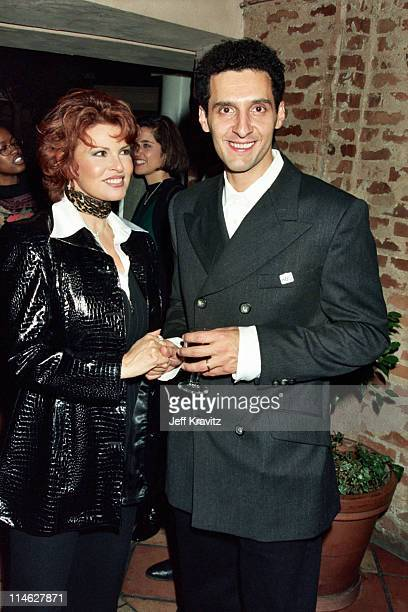 Raquel Welch and John Turturro during HBO's After party for Sugartime Screening at Mustache Cafe in Westwood CA United States