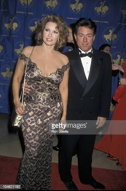 Raquel Welch and Richard Palmer during 13th Annual Carousel of Hope Ball Benefiting Childrens Diabetes at Beverly Hilton Hotel in Beverly Hills...