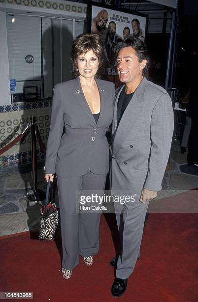 Raquel Welch and Richard Palmer during Life Los Angeles Premiere at Mann Village Theatre in Westwood California United States