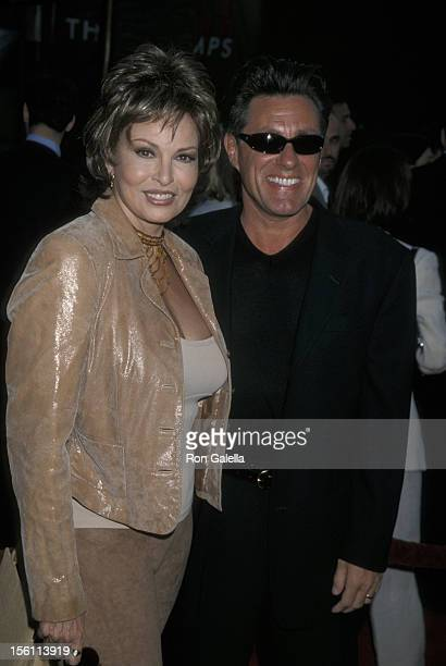 Raquel Welch and Richard Palmer during 'Nutty Professor II The Klumps' Los Angeles Premiere at Universal Amphitheatre in Universal City California...