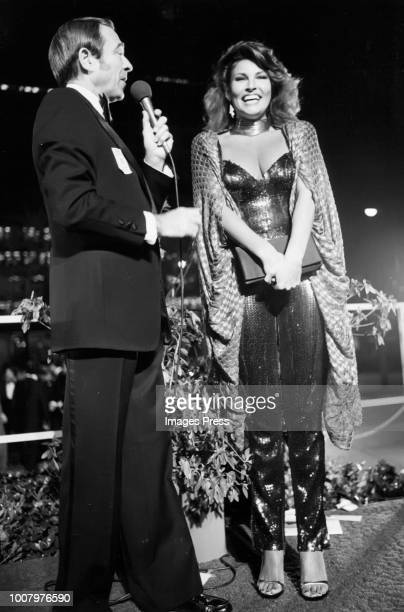 Raquel Welch at the Academy Awards circa 1979 in New York