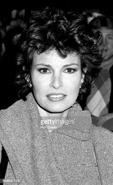 Raquel Welch attends a book signing on November 24 1984 at the Beverly Wilshire Hotel in Beverly Hills California