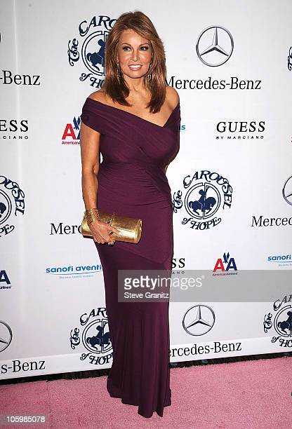Raquel Welch attends The 32nd Annual Carousel Of Hope Ball at The Beverly Hilton hotel on October 23 2010 in Beverly Hills California