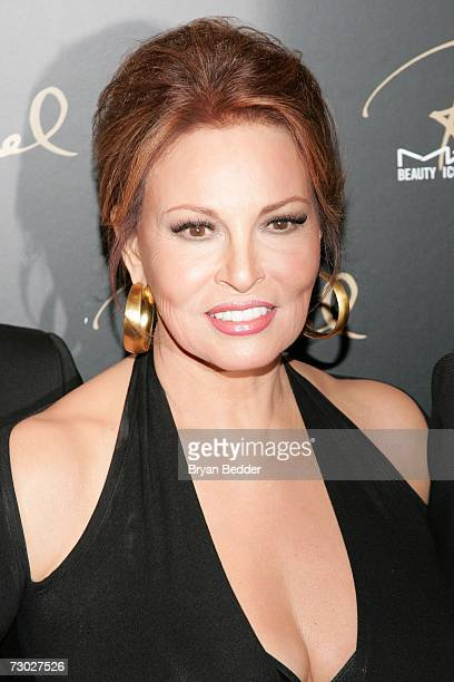 Raquel Welch attends the MAC Cosmetics celebration to honor her as a Beauty Icon on January 17, 2006 in New York City.