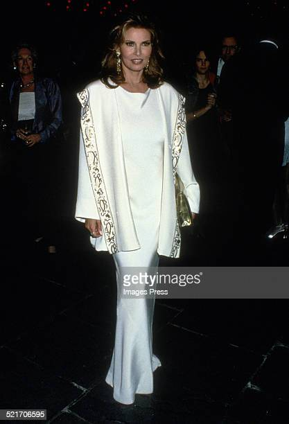 Raquel Welch attends the Richard Avedon exhibition at the Whitney Museum on March 29, 1994 in New York City.