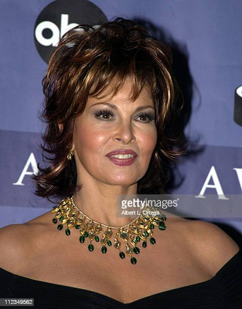Raquel Welch during 2002 ALMA Awards Gala Press Room at The Shrine Auditorium in Los Angeles California United States