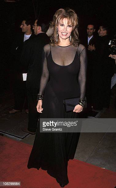 Raquel Welch during APLA Fashion Show Honors Isaac Mizrahi May 4 1994 at Mann's Chinese Theater in Hollywood New York United States