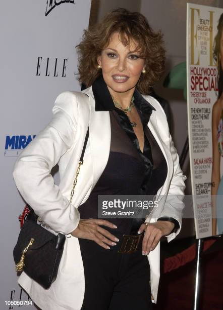 Raquel Welch during Frida Premiere Los Angeles at Los Angleles County Museum of Art in Los Angeles California United States