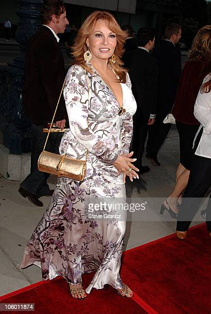 Raquel Welch during Hollywoodland Los Angeles Premiere Arrivals at Academy Theatre in Beverly Hills California United States