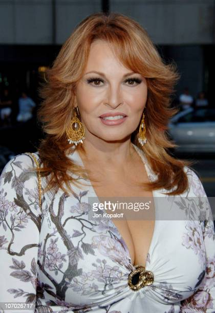 Raquel Welch during Hollywoodland Los Angeles Premiere Arrivals at Academy of Motion Picture Arts and Sciences in Beverly Hills California United...