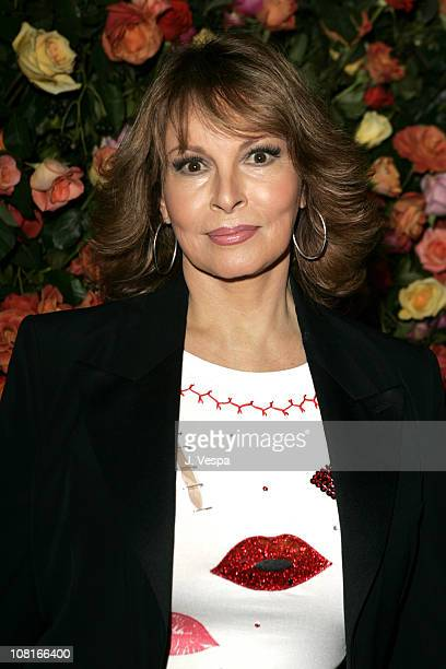 Raquel Welch during Marc Jacobs Celebrates the Opening of Three Los Angeles Stores Red Carpet at Marc Jacobs Boutique in Los Angeles California...