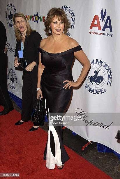 Raquel Welch during The 15th Carousel Of Hope Ball Arrivals at Beverly Hilton Hotel in Beverly Hills California United States