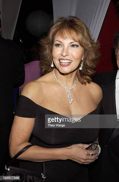 Raquel Welch during The Bloomberg afterparty immediately following The White House Correspondents Dinner at Trade Ministry of the Russian Federation...