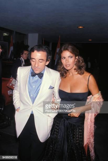 Raquel Welch et Louis Malle à une soirée en 1979 aux EtatsUnis