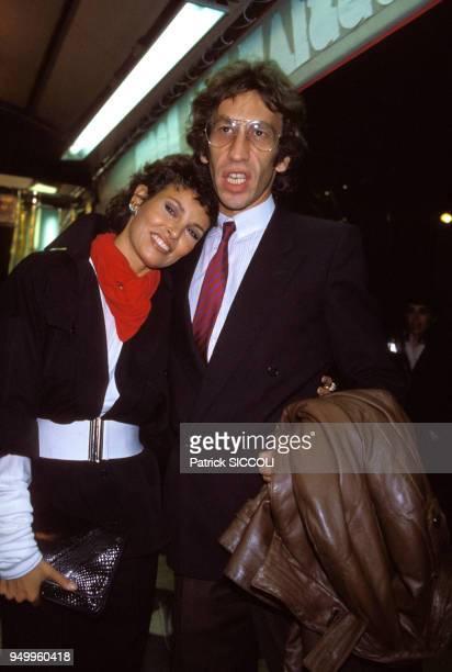 Raquel Welch et son mari André Weinfeld à Paris le 8 septembre 1981 France
