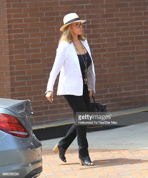 Raquel Welch is seen on May 24 2017 in Los Angeles CA