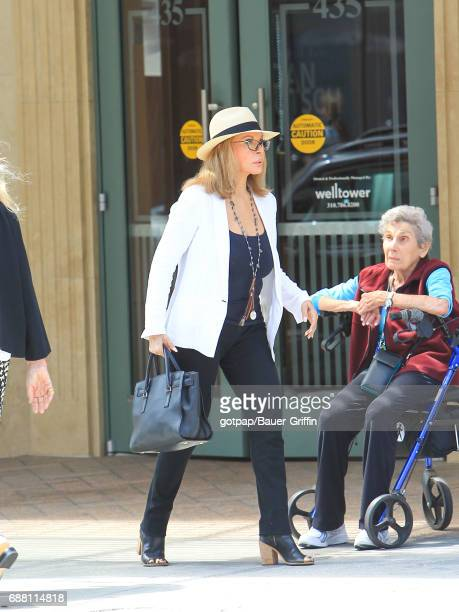 Faye Dunaway is seen on May 24 2017 in Los Angeles California