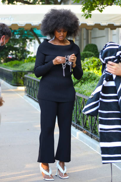 NY: Celebrity Sightings In New York City - August 10, 2020