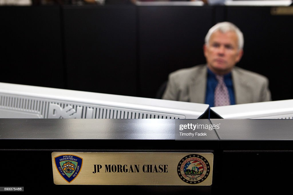 USA - Crime - New York Police Department's Security Coordination Center : News Photo
