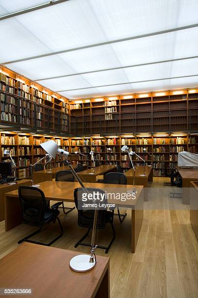 Rare manuscripts reading room in the Morgan Library and Museum The library reopened today after three years and $106 million of renovation The...