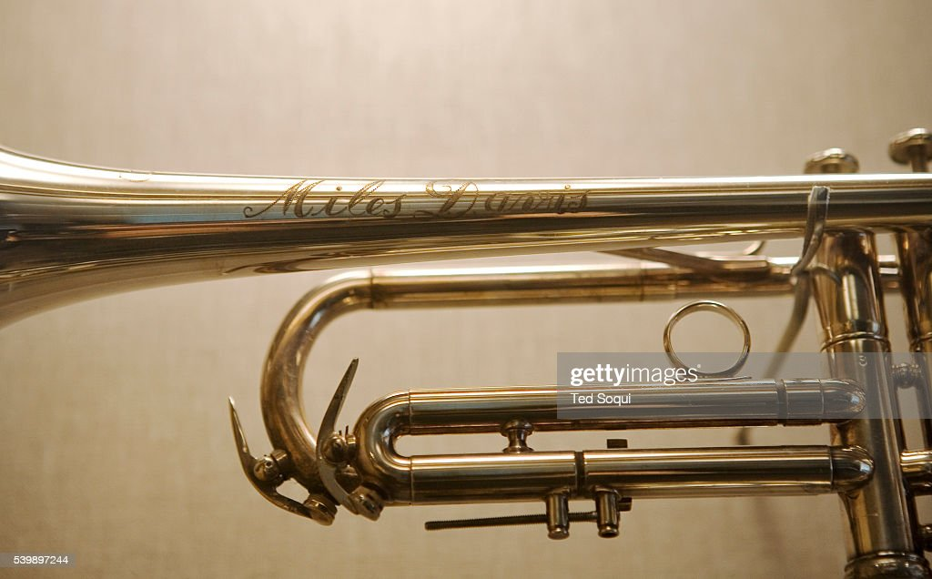 Rare musical artifacts  A trumpet once owned and played by