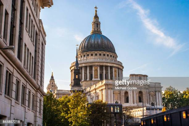 Rare view of the East side of St. Paul's Cathedral