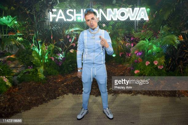 Rarri is seen as Fashion Nova Presents Party With Cardi at Hollywood Palladium on May 8 2019 in Los Angeles California