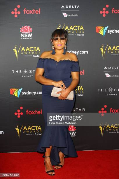 Rarriwuy Hick attends the 7th AACTA Awards Presented by Foxtel | Ceremony at The Star on December 6 2017 in Sydney Australia