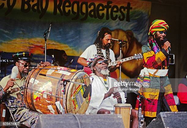 Ras Michael And His Band Play At The Monterey Bay Reggae Festival California