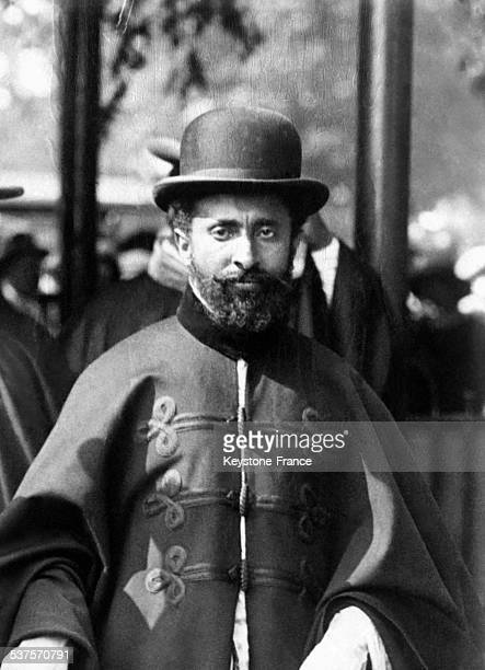 Ras Tafari Regent of Abyssiny two years before he was proclaimed Emperor Haile Selassie of Ethiopia in 1928 in Ethiopia