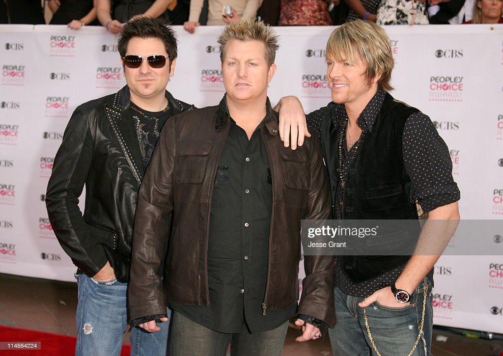 Rascal Flatts during The 33rd Annual People's Choice Awards - Arrivals at Shrine Auditorium in Los Angeles, California, United States.