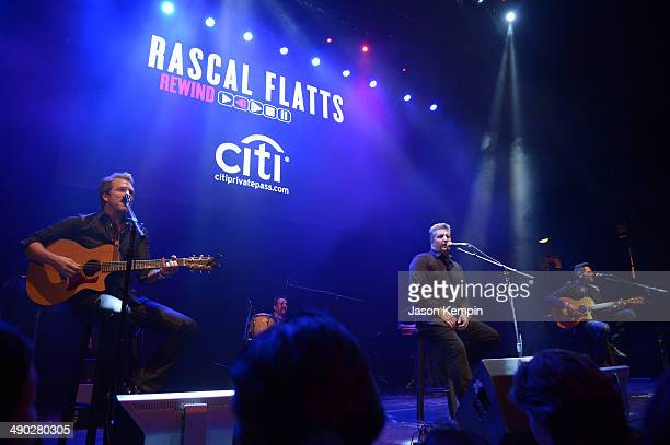 Rascal Flatts perform at Citi Presents Rascal Flatts' Rewind Album Release Party In Los AngelesCiti Presents Rascal Flatts' Rewind Album Release...