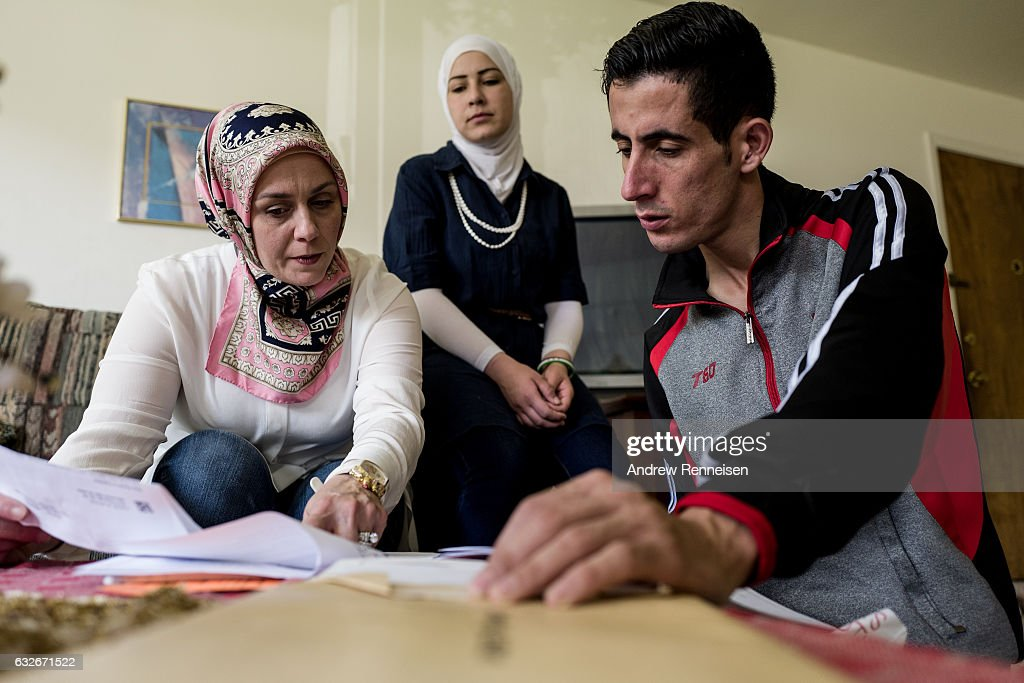 America's Syrian Refugees : News Photo