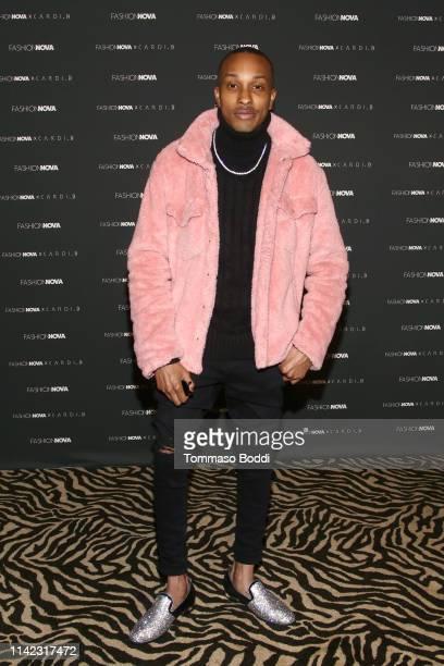 Rashaad Dunn arrives as Fashion Nova Presents Party With Cardi at Hollywood Palladium on May 8 2019 in Los Angeles California