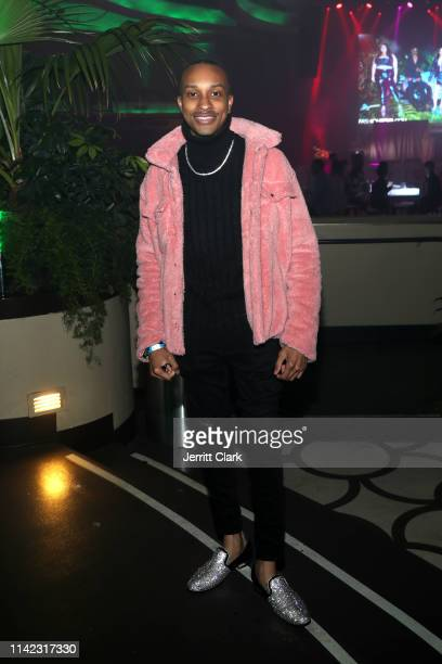 Rashaad Dunn is seen as Fashion Nova Presents Party With Cardi at Hollywood Palladium on May 8 2019 in Los Angeles California
