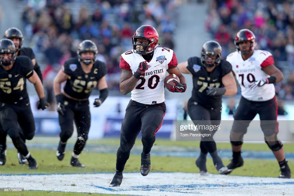 Lockheed Martin Armed Forces Bowl - San Diego State v Army : News Photo