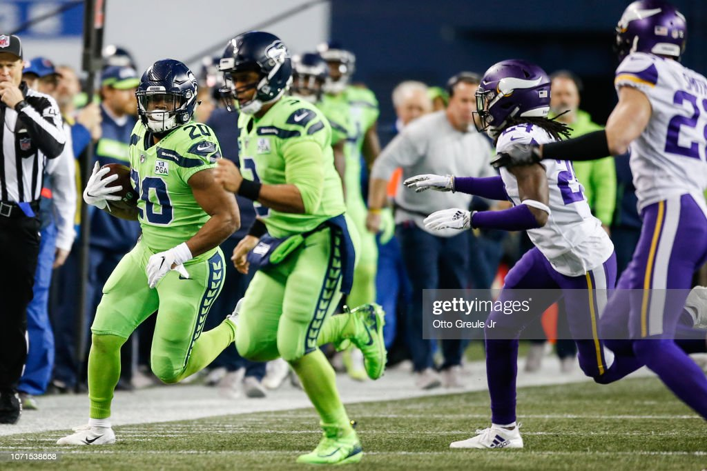 Minnesota Vikings v Seattle Seahawks : News Photo