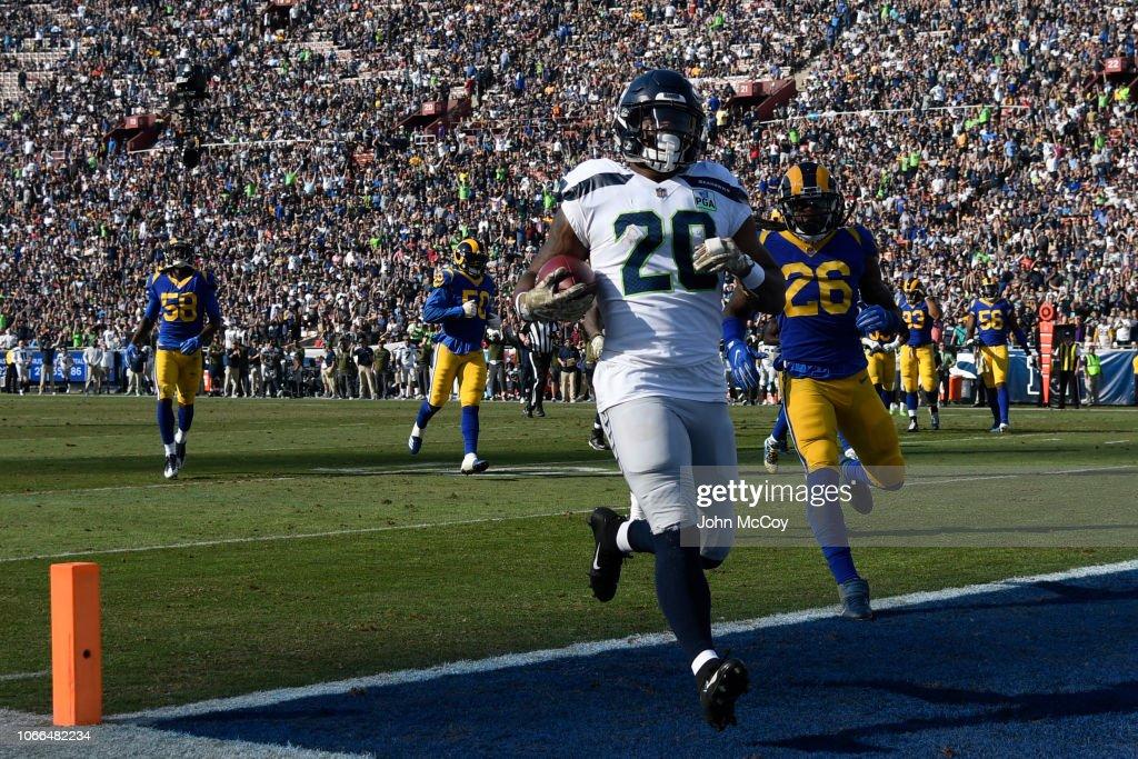 Seattle Seahawks v Los Angeles Rams : News Photo