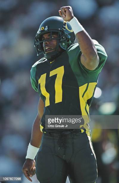 Rashad Bauman Defensive Back for the University of Oregon Ducks during the NCAA Pac10 Conference college football game against theUniversity of...