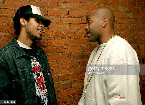 Rashad Haughton and Damon Dash during C Ronson 2004 Collection Launch Party at Canal Room in New York City New York United States