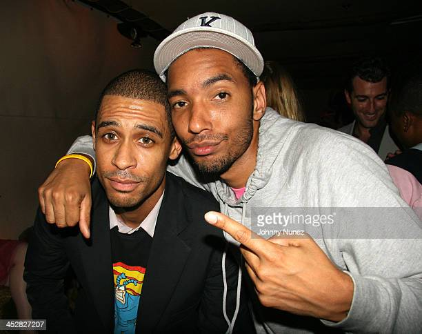 Rashad Haughton and Kenny McAlister during Bunny Chow 1st Anniversary at Cain in New York City April 12 2006 at Cain in New York City New York United...