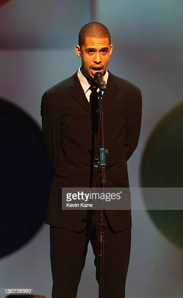 Rashad Haughton brother of Aaliyah during 2001 MTV Video Music Awards Show at The Metropolitan Opera House at Lincoln Center in New York City New...
