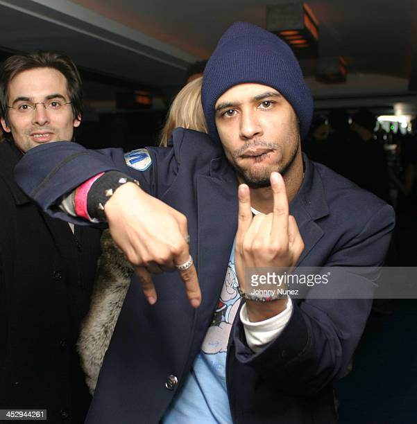 Rashad Haughton during Honey New York Premiere After Party Hosted by Andre Harrell at Play in New York City New York United States