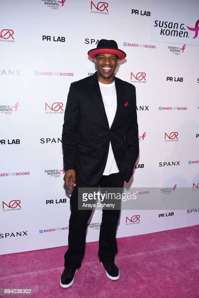 Rashad McCants attends the Susan G Komen LA presents 'Babes For Boobs' Live Bachelor Auction at El Rey Theatre on June 8 2017 in Los Angeles...