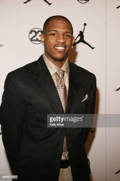 Rashad McCants of the Minnesota Timberwolves on the red carpet at the Jordan  Brand House of 0d2363047b