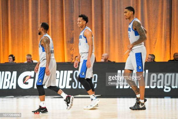 Rashad Vaughn of the Texas Legends walks up court during the NBA G League Winter Showcase on December 19 2018 at Mandalay Bay Events Center in Las...