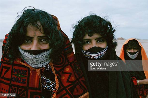Rashaida women in Massawa on the Red Sea coast of Eritrea 2004