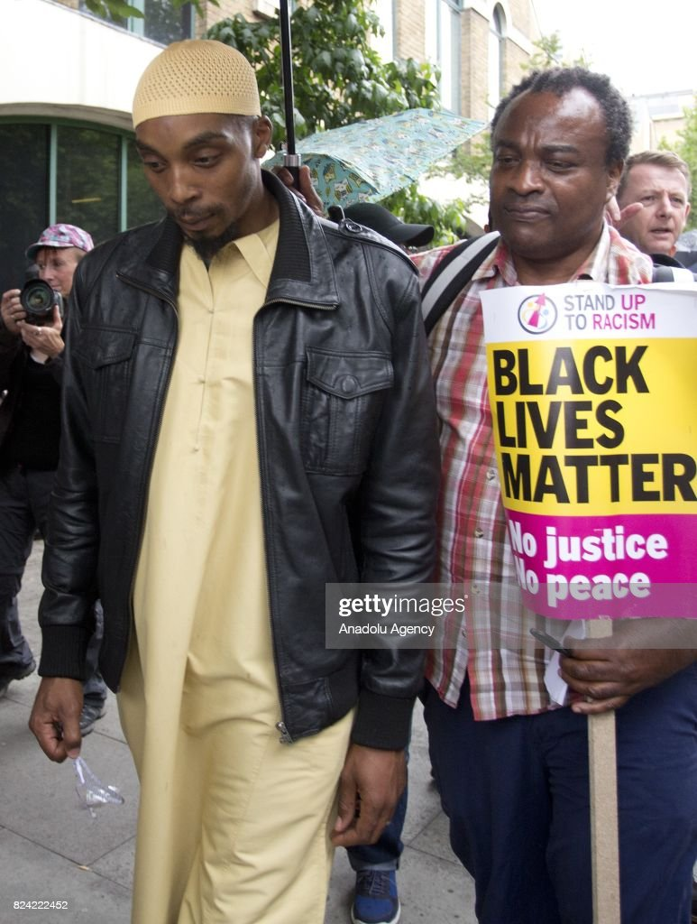 Vigil for Rashan Charles in London : News Photo