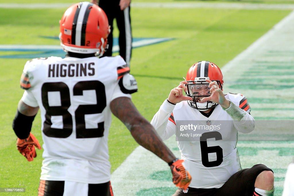 Cleveland Browns v Tennessee Titans : ニュース写真