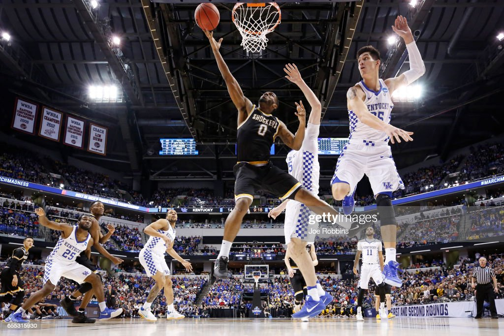 NCAA Basketball Tournament - Second Round - Indianapolis